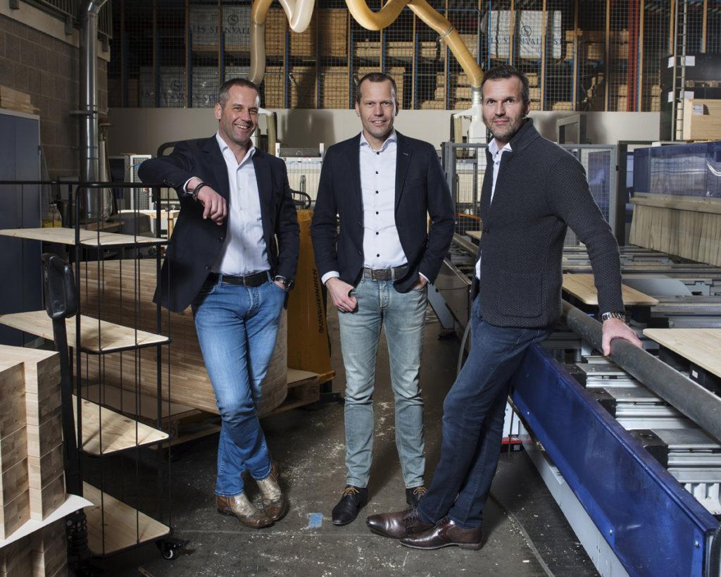 Gerard, Jos en Winfried de Smit De Eekhoorn Furniture