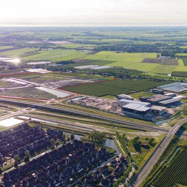 Bedrijventerrein Zevenhuis luchtfoto juni 2019