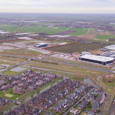 Bedrijventerrein Zevenhuis luchtfoto januari 2020