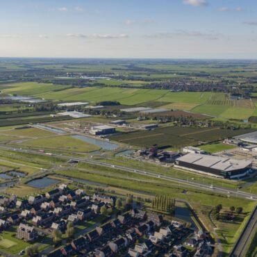 Bedrijventerrein Zevenhuis luchtfoto oktober 2020